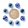 Round Evil Eye Resin BeadsX-RESI-R159-12mm-08-3