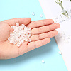 Transparent Clear Acrylic BeadsTACR-YW0001-08C-9