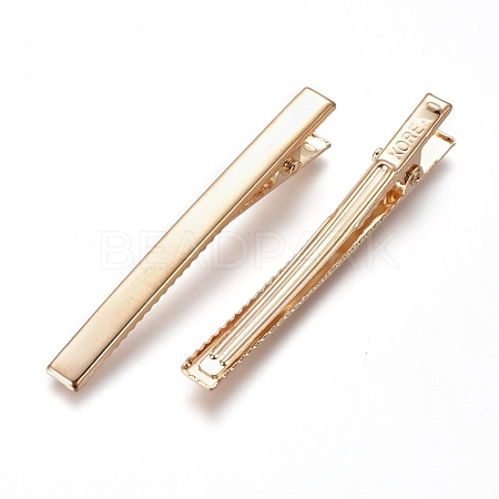 Iron Hair Accessories FindingsX-IFIN-WH0051-77-1