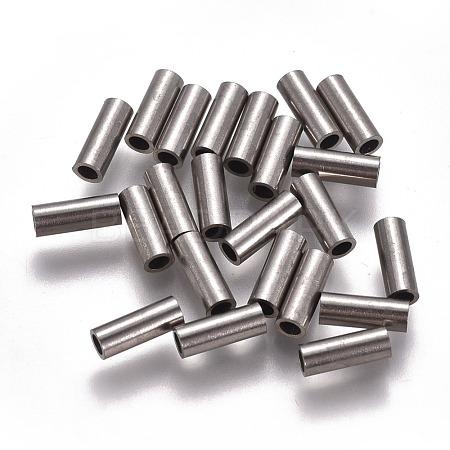 304 Stainless Steel Tube BeadsSTAS-F224-01P-C-1