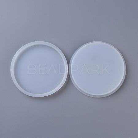 DIY Round Coaster Silicone MoldsDIY-P010-24-1
