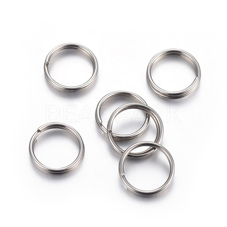 304 Stainless Steel Split RingsSTAS-P223-22P-09-1
