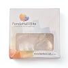 PandaHall Elite 25mm Transparent Clear Domed Glass Cabochon Cover for Brass Photo Pendant MakingKK-PH0034-47S-6