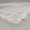 28 Grids Transparent Polypropylene(PP) Bead OrganizersX-CON-J003-03-5