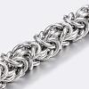 304 Stainless Steel Byzantine ChainSTAS-P197-066P-1