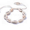 Adjustable Cowrie Shell AnkletsAJEW-AN00256-1