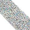 Glitter Resin Hotfix Rhinestone(Hot Melt Adhesive On The Back)OCOR-TA0001-A-01-3
