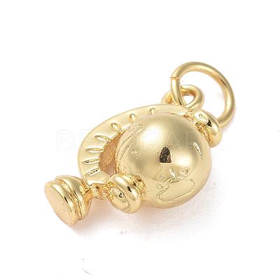 Brass CharmsZIRC-G160-59G-1