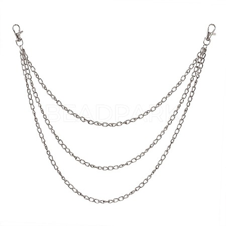 Fashion Universal Hip Hop Belt Waist Chain Jeans PunkPALLOY-TAC0019-01P-1