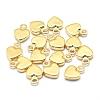Environmental Brass CharmsKK-P155-10G-NR-1