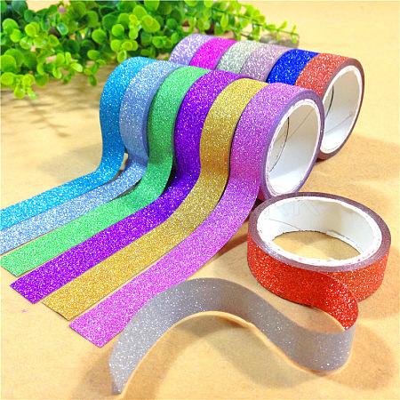 Glitter DIY Scrapbook Decorative Adhesive TapesDIY-A002-01-1