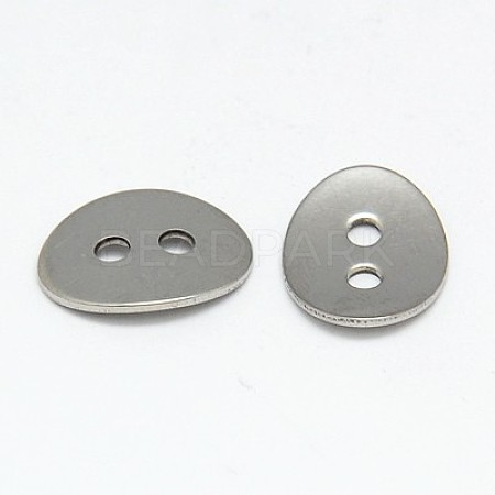 304 Stainless Steel ButtonsSTAS-I015-01-1