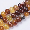 Natural Agate Beads Strands G-I198D-A-06-1