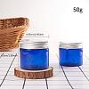 50g Empty PET Plastic Refillable Cream JarMRMJ-WH0054-03B-3