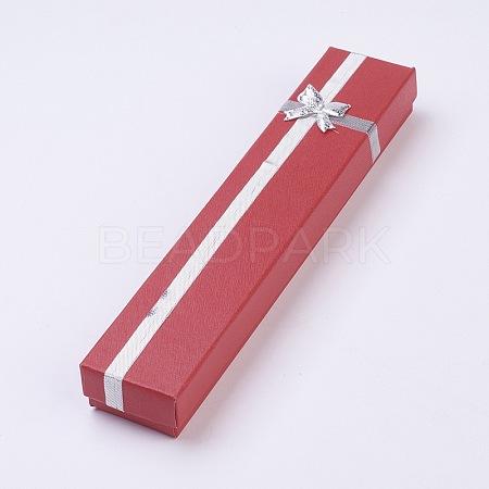 Cardboard Jewelry BoxesCBOX-WH0001-B02-1