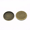 Iron Plain Edge Bezel CupsX-MAK-Q011-25AB-25mm-1