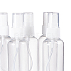 60ml Transparent PET Plastic Refillable Spray BottleMRMJ-BC0001-51-8