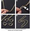 Brass Paperclip ChainsCHC-G007-01G-9