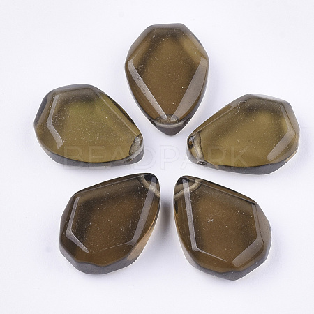 Natural Smoky Quartz Pendants G-S349-12-1
