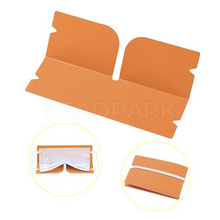 Portable Foldable Plastic Mouth Cover Storage Clip OrganizerAJEW-E034-71B-1