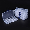 Plastic Bead Storage Containers X-CON-Q026-02A-4