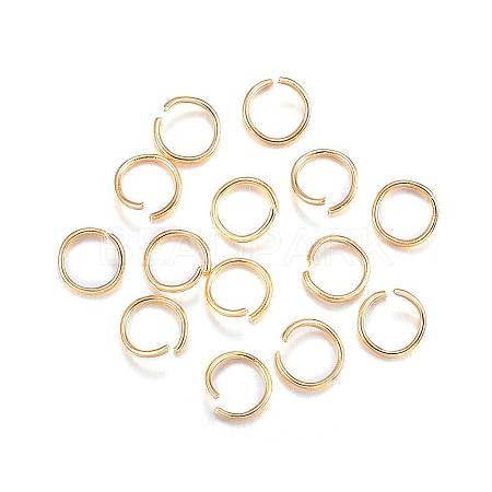 304 Stainless Steel Jump RingsSTAS-F084-21G-1