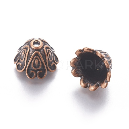 Tibetan Style Alloy Bead CapsX-EA9700Y-R-1