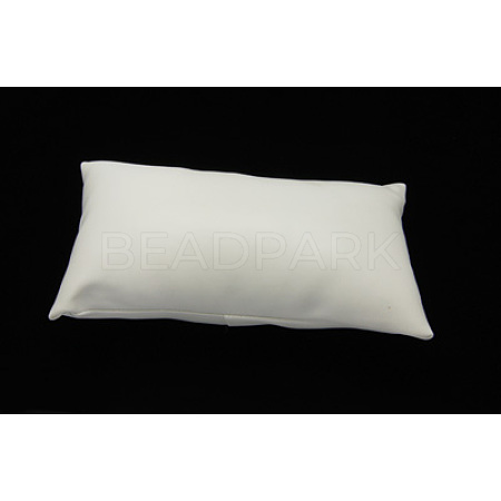Leather Pillow Jewelry Bracelet Watch DisplayX-BDIS-H015-1-1