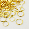 1 Box Brass Jump Rings KK-X0059-G-B-3