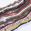 Natural & Synthetic Gemstone Beads StrandsG-XCP0001-1