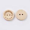 Wooden ButtonsBUTT-K007-08B-3