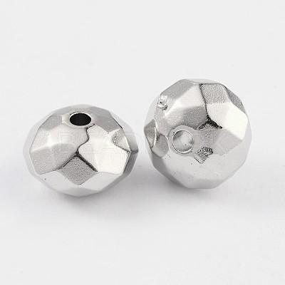 CCB Plastic BeadsM-PABS001Y-1