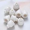 Handmade Porcelain Bead ConesPORC-S500-021-A05-1