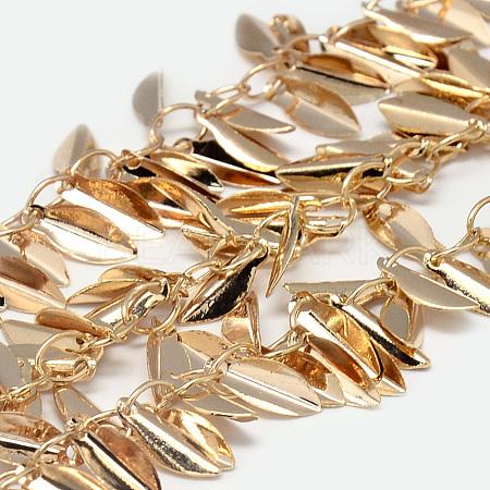 Handmade Brass ChainsCHC-Q003-04G-1