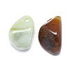 Natural Agate Pendants G-F637-16C-2