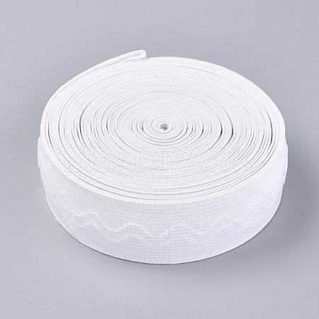 Polyester Non-Slip Silicone Elastic Gripper BandSRIB-WH0006-22B-02-1