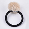 Imitation Wool Girls Hair AccessoriesX-OHAR-S190-17-2