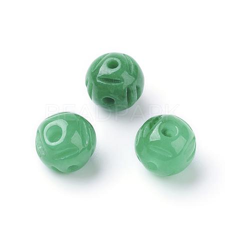 Natural Jade Buddhist BeadsG-E418-59-1