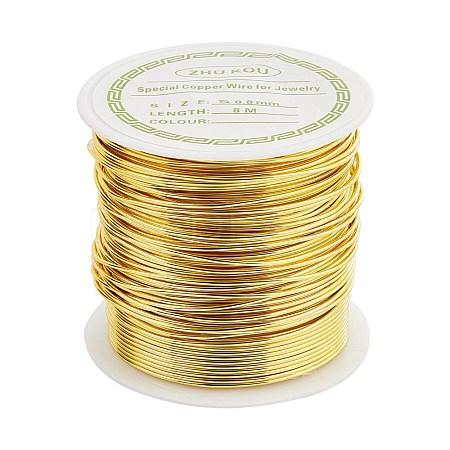 Copper Wire Copper Beading WireCWIR-F001-G-0.8mm-1