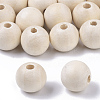 Unfinished Natural Wood BeadsX-WOOD-S651-A14mm-LF-1