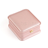 PU Leather Necklace Pendant Gift BoxesLBOX-L005-F02-1