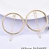 Alloy Hollow Geometric Hair PinPHAR-N005-011G-4