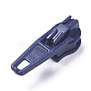 Spray Painted Alloy Replacement Zipper SlidersPALLOY-WH0067-97U-1