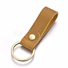 Cowhide Leather Keychain KEYC-WH0014-A03-2