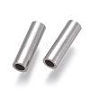 304 Stainless Steel Tube BeadsSTAS-F224-01P-D-2