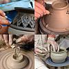 BENECREAT 40pcs/Set Ceramic Pottery Clay Model Home Craft ArtTOOL-BC0007-02-6