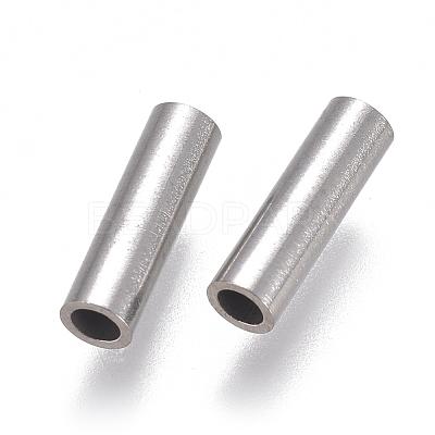 304 Stainless Steel Tube BeadsSTAS-F224-01P-D-1