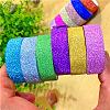 Glitter DIY Scrapbook Decorative Adhesive TapesDIY-A002-01-6