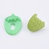 Acrylic Strawberry Shank ButtonsX-BUTT-E025-08-3