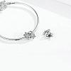 925 Sterling Silver Euorpean BeadsSTER-FF0013-02-4